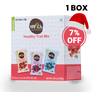 1 Box Set – Trail Mix Assorted of (3 * 3) Flavours 9 Packs