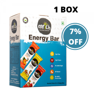1 Box Set – Assorted Energy Bar (6 – Pack)
